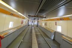 Inside Euro Train
