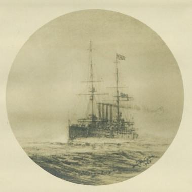 H.M.S. Euryalus, flying Flag of Admiral of the Fleet