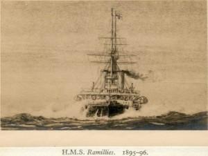 H.M.S Ranillies