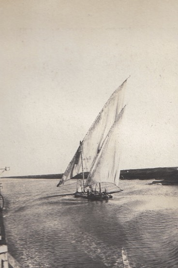 H.M.S Petersfield Tour - Suez Canal Oct 22 1922.