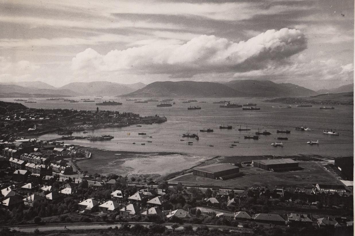 Gourock, Inverclyde Scotland  1939 - 1945