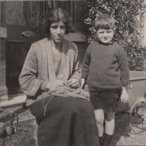Mary May with Hugh