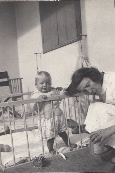 Peter with Nanny Alkins