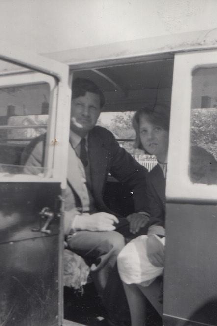 Hugh May with Tony