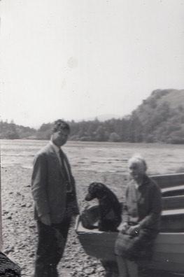 Hugh May with Mary May