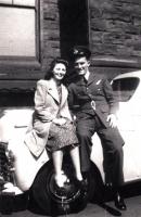 Bernard McGouran with Johanna O'Callaghan 1943